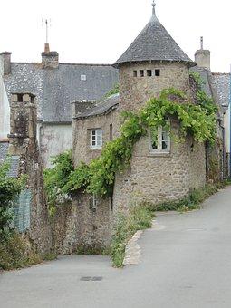 House, Brittany, Morbihan, Ile Aux Moines, Stones