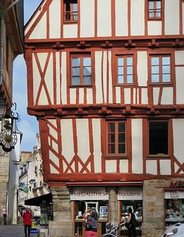 Valves, Morbihan, House, Studs, Old Town