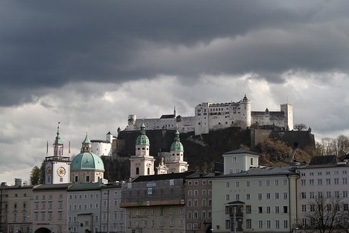 Salzburg, Building, Architecture, Old Town, Austria