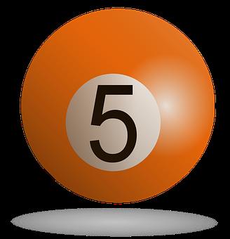 Billiard, Billiard Ball Orange, Sport, Pool, Orange