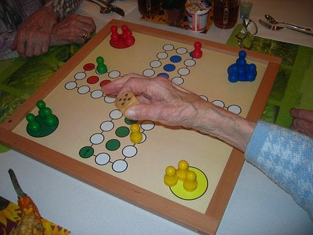 Play, Board Game, Not Ludo, Parchesi Up Not