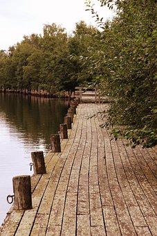 Oulu, Finland, Harbor, Bay, Water, Boardwalk, Pier