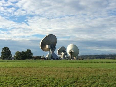 Satellite Dish, Radar Dish, Radar, Telescope