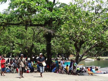 Tribal Village, People, Villagers, Tribal, Village