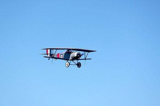 Biplane, Airplane, Flight, Aircraft, Fly, Pilot