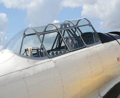 Airplane, Cockpit, Flight, Plane, Transportation