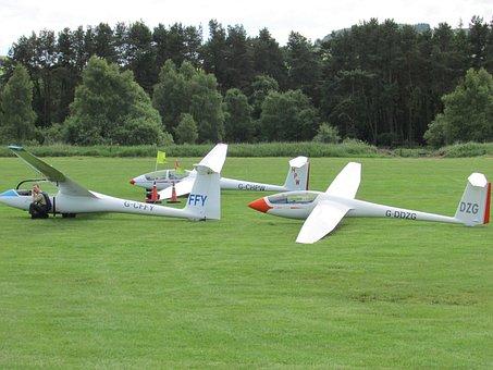 Glider, Sailplane, Gliding, Aircraft, Pilot, Airplane