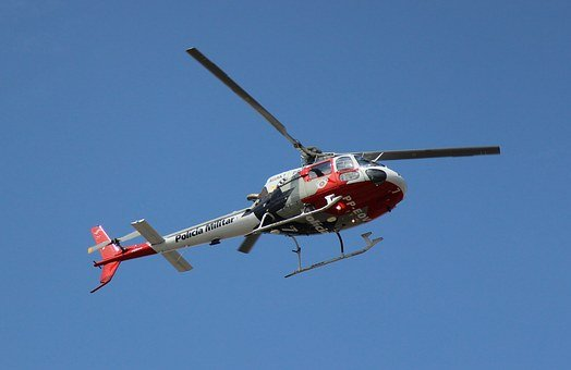 Helicopter, Police, Military, Authorities, Flight