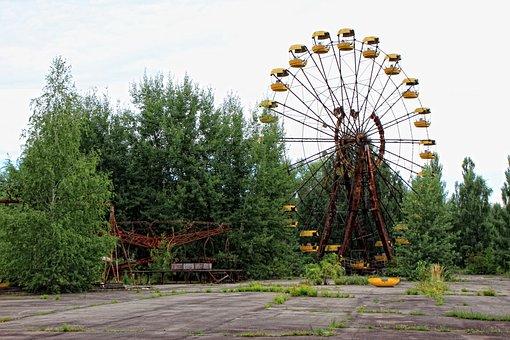 Theme Park, Ferris Wheel, Big, Wheel, Fun, Carnival