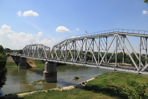 Moldova, Transnistria, Bender, Bridge