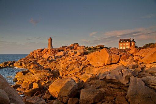 Brittany, Atlantic Coast, France, Atlantic, Coast