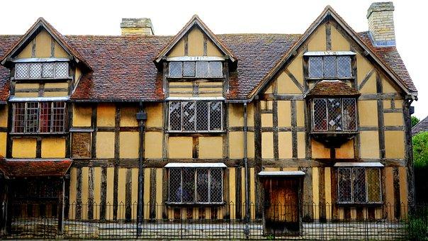 Shakespeare, House, Architecture, Building, Landmark