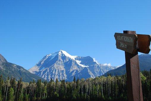 Canada, Mount Robson, Mountain, British Columbia