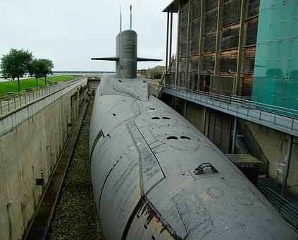 Normandy, Cherbourg, Submarine, Nuclear