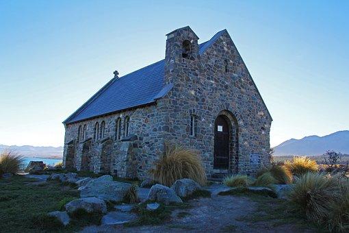 Church Of The Good Shepherd, Lake, Lake Tekapo, Church
