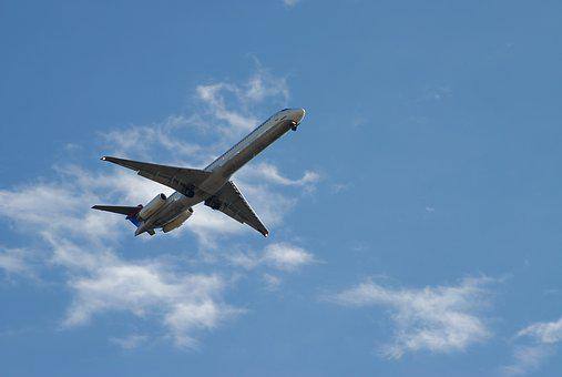 Commercial Airplane, Jet, Airline, Transportation
