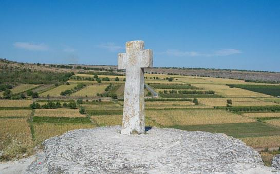 Cross, Stone Cross, Skit, Rocky Monastery, Old Orhei