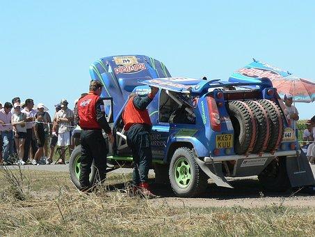 Dakar Pilot, Argentina, Competition, Engine Break