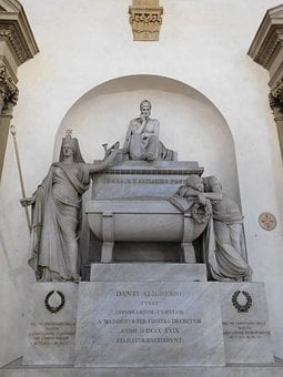 Dante, Divine Comedy, Divina Comedia, Comedy, Monument