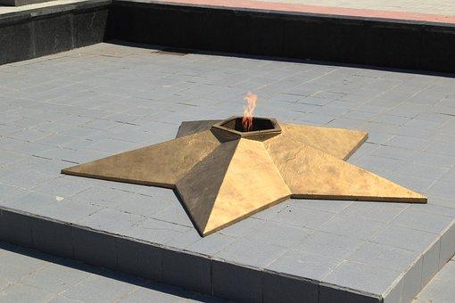Moldova, Transnistria, Tiraspol, Eternal, Flame, Square