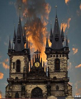 Mary's Church, Prague, Wenceslas Square, Europe