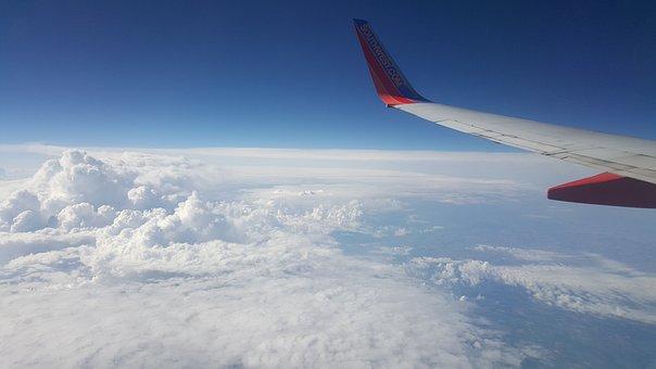 Sky, Plane, Air, Flight, Airplane, Travel, Fly, Jet