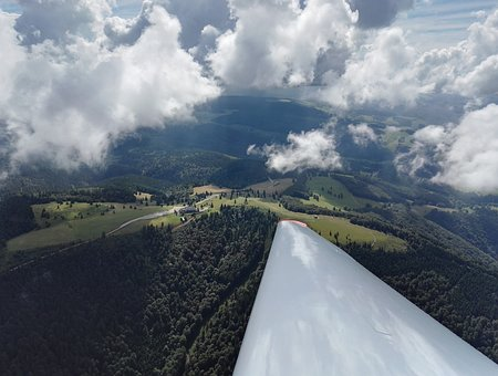 Kandel, From The Glider, Black Forest, Forest