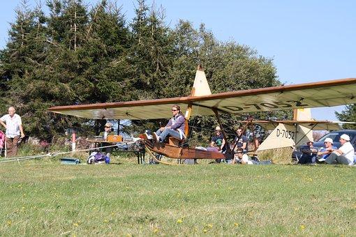 Fly, Glider, Segelflugsport, Glider Pilot, Gliding