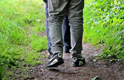 Walk, Go, Go For A Walk, Away, Promenade, For Two