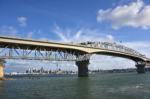 New Zealand, Harbor Bridge, Auckland