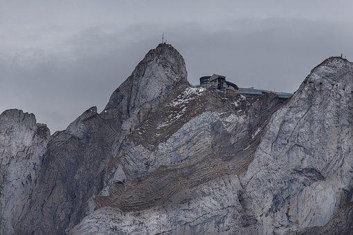 Pilatus-kulm, Hotel Pilatus, Mountain, Switzerland