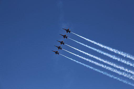 Blue-angels, Airplane, Marines, Flight, Jet, Aircraft