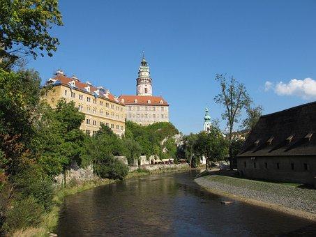 Moldova, Krumlov, Castle, český Krumlov, Cesky