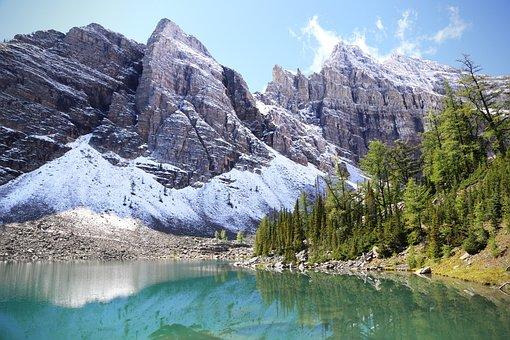Canada, Lake, Agnes, Alberta, Rocky, Mountain, Travel