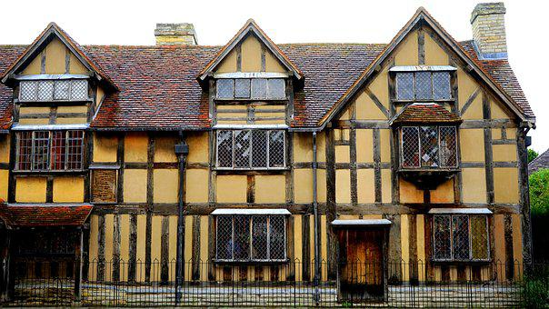 Shakespeare, House, Architecture, Building, Landmark