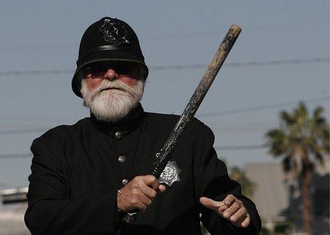 Police, Policeman, Bobby, Uniform, Male, Protect