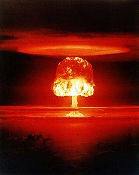 Atomic Bomb, Mushroom Cloud, Explosion