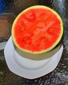 Fruit, Melon, Watermelon, Nature, Eat, Colorful, Exotic