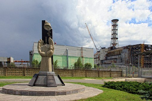 Monument, Chernobyl, Ukraine, Npp, Nuclear Power Plant