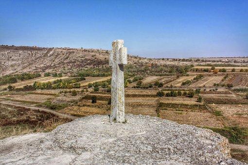 Cross, Monastery, Old Orhei, Moldova, Outdoors