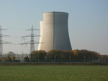 Nuclear Power Plant, Philippsburg, Energy, Industry