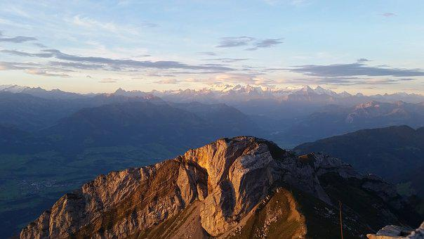 Pilatus, Dragon Mountain, Central Switzerland