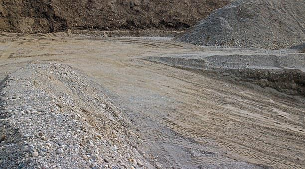 Background, Grey, Sand, Stones, Pit, Sandpit, Material