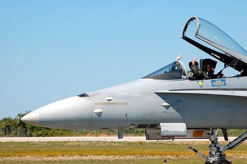 Jet Aircraft, Air Show, Pilot, Airplane, Plane