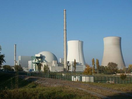 Nuclear Power Plant, Reactor, Atomic, Philippsburg
