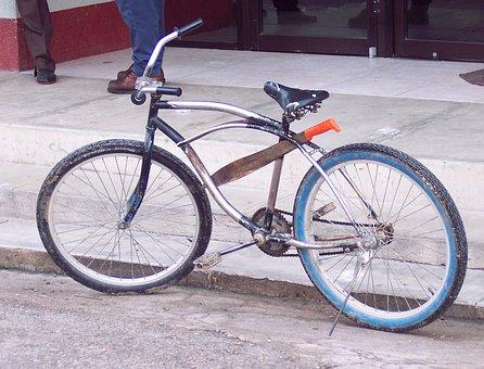 Machete, Bicycle, Vintage, Bike, Belize, Cycling, Retro