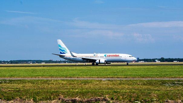 Corendon, Plane, Schiphol, Airport, Fly, Travel