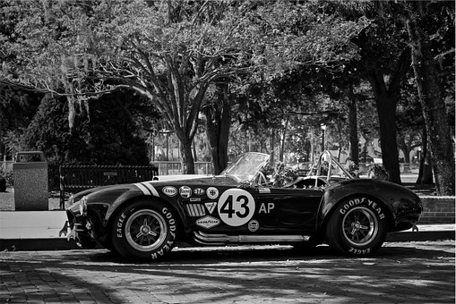 Shelby, Cobra, Race Car, Vintage, Classic, Oldschool