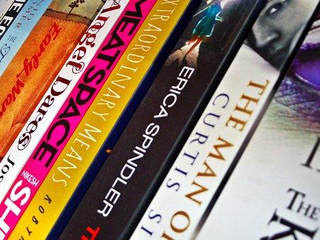Background, Books, Shelf, Novels, Literature, Author