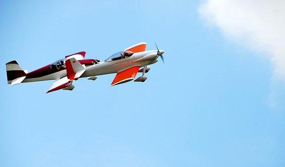 Air Show, Airplane, Aircraft, Stunt Plane, Show, Plane